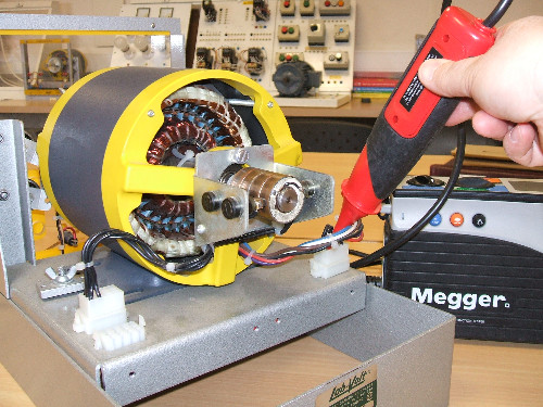 Megger Test In Motor